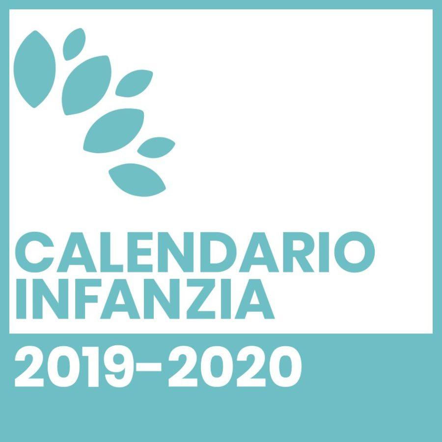 Calendario Infanzia 2019-2020