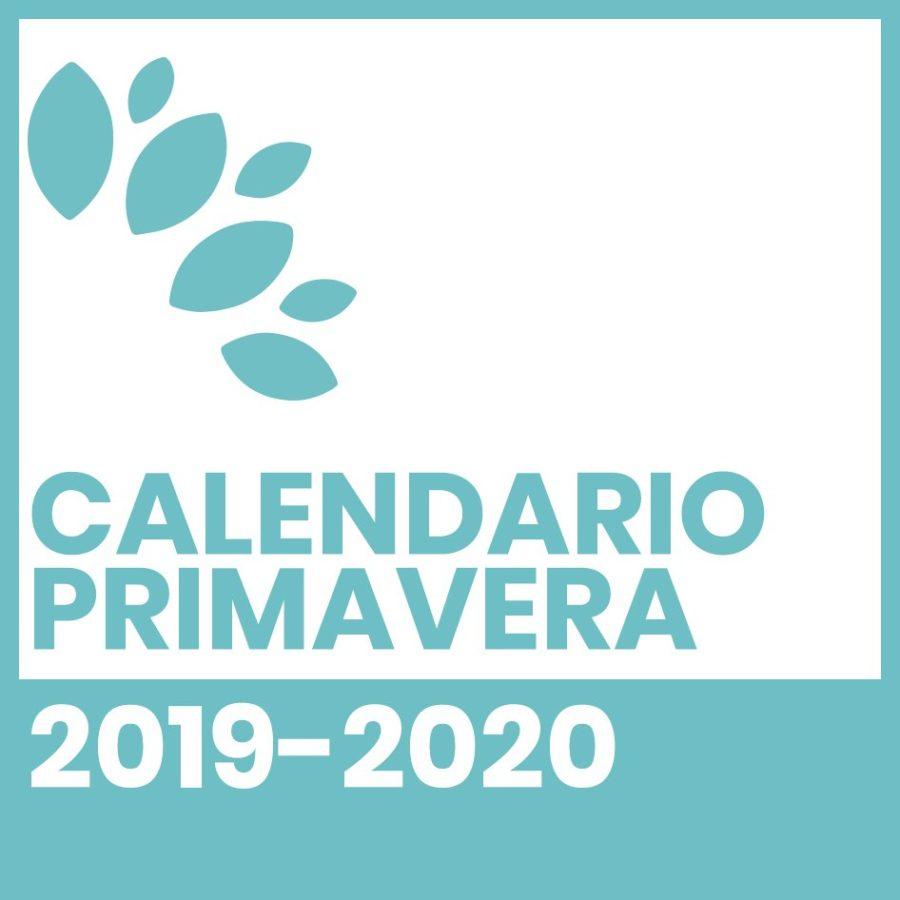 Calendario Primavera 2019-2020